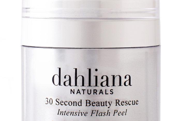 Dahliana's 30 Second Beauty Rescue Intensive Flash Peel
